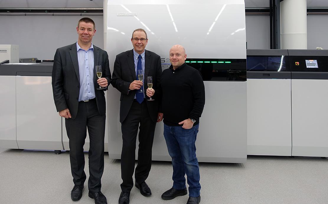 b419fb3be329 Lexon стала владельцем первой цифровой печатной машины Komori Impremia IS29  в Великобритании